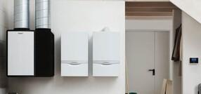 Новая гибридная система Vaillant с тепловым насосом и конденсационным котлом